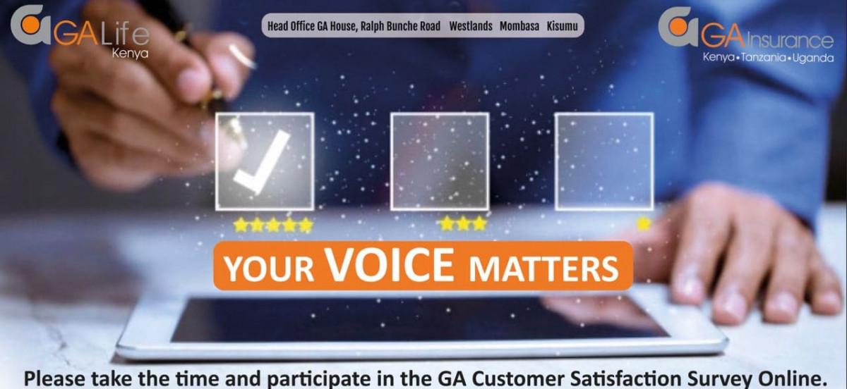 GA Insurance Customer Satisfaction Survey